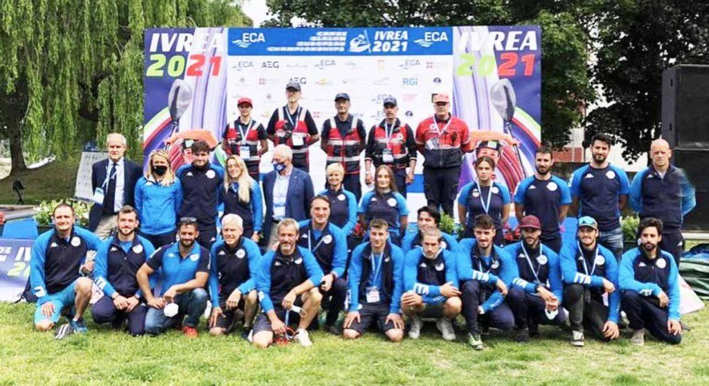 atleti federazione italiana canoa kayak ivrea europei mondiali genesi fisioterapia
